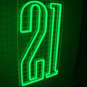 21 Neon Sign 02