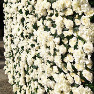 White Flower Wall 02