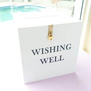 White Wishing Well 01