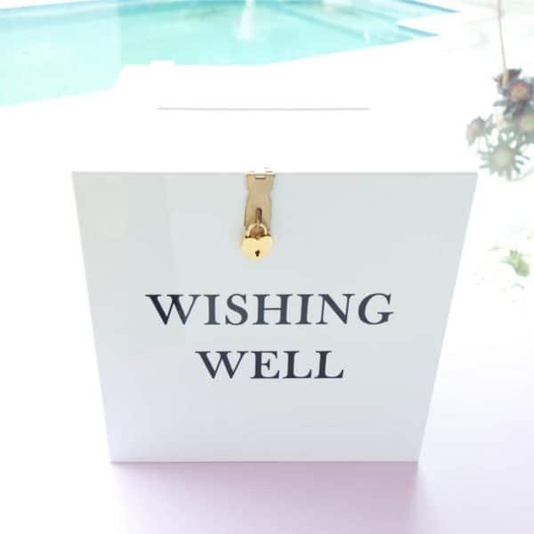 White Wishing Well 02
