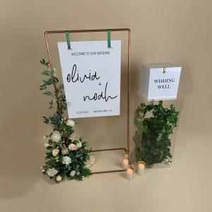 Wedding Sign Wishing Well Package 01