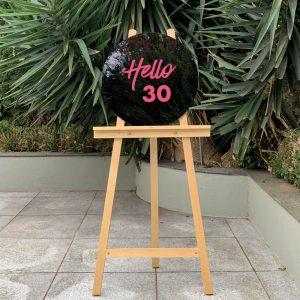30th Birthday Sign 01