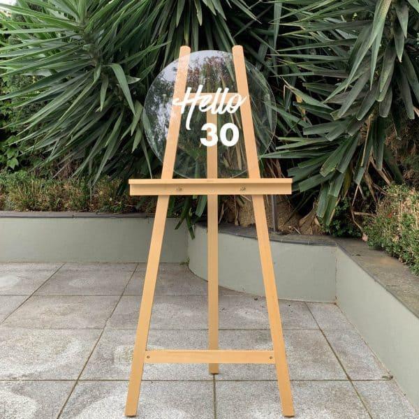 30th Birthday Sign 03
